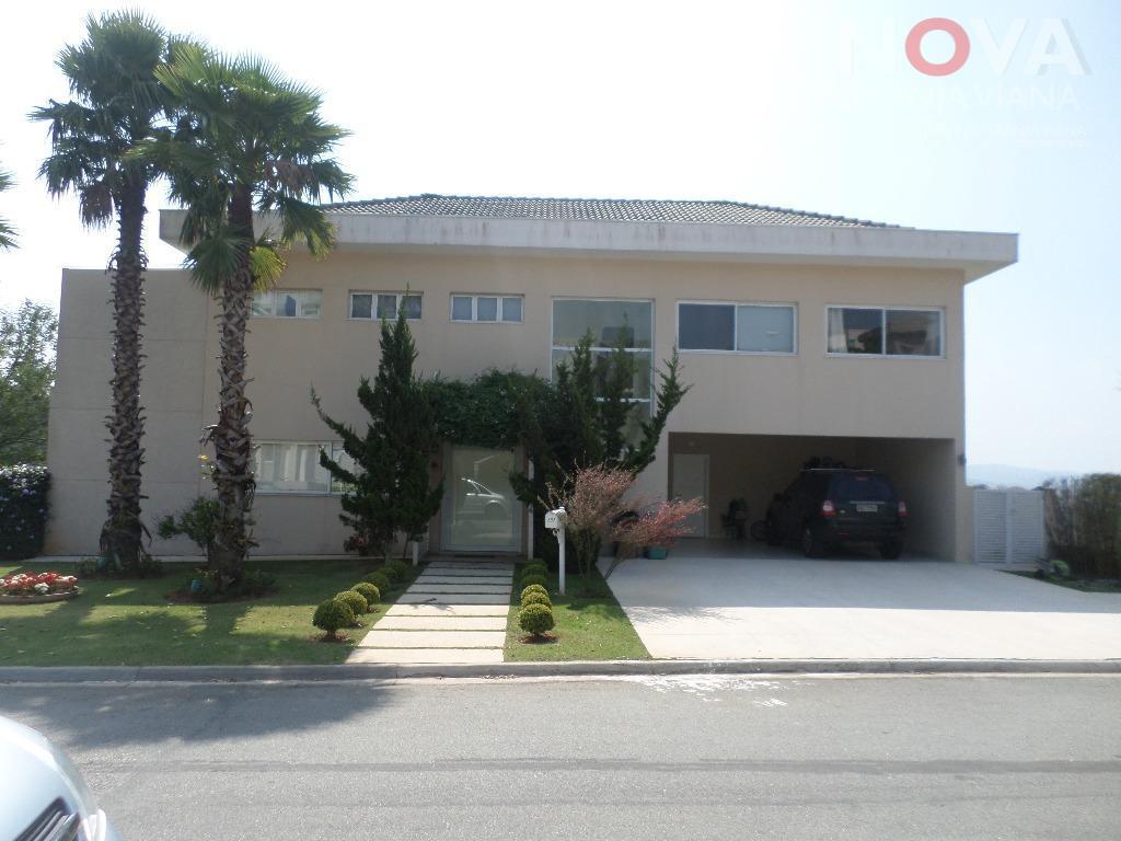 Casa residencial à venda, Gênesis 2, Santana de Parnaíba - CA1394.