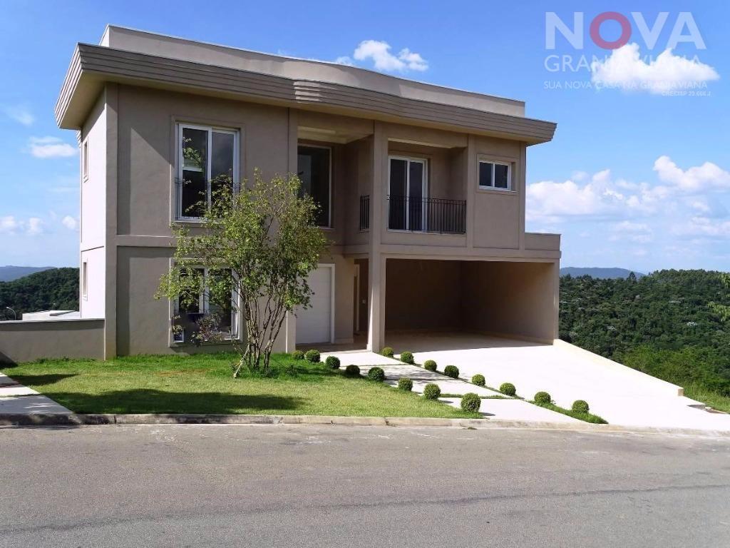 Casa residencial à venda, Gênesis 2, Santana de Parnaíba - CA1398.