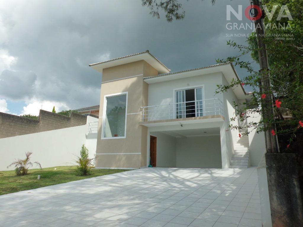 Casa residencial à venda, Haras Bela Vista, Vargem Grande Paulista - CA1385.