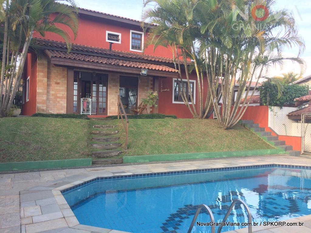Casa residencial à venda, Nova Higienópolis, Jandira - CA1454.