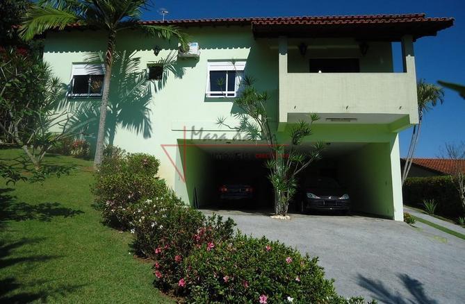 Sobrado residencial à venda, Condomínio Chácaras do Lago, Vinhedo - CA0520.