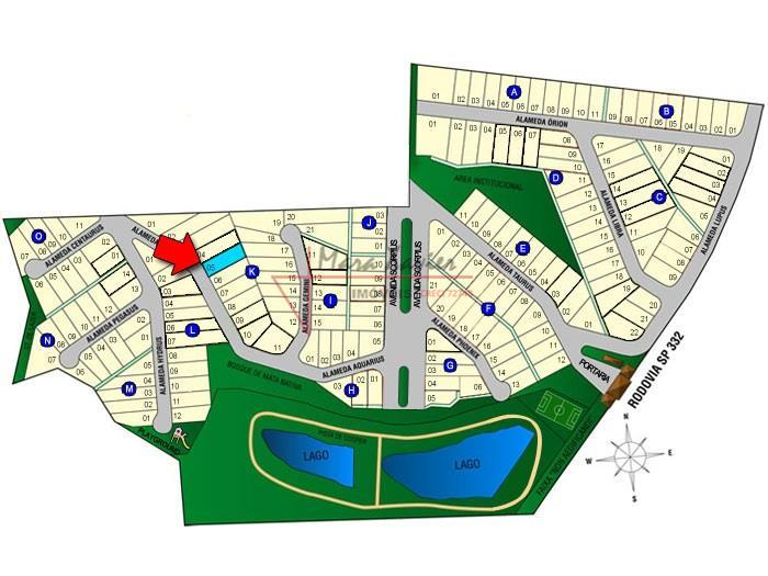 Terreno venda, Condomínio Delle Stelle, Louveira - TE0730.