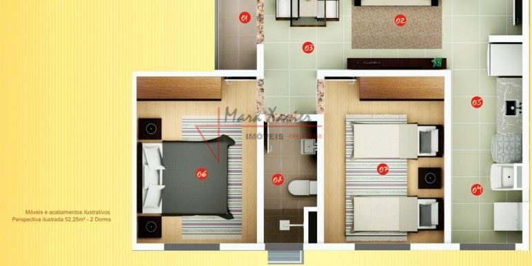 Apartamento venda e locação, Condomínio Vienna Residencial l, Vinhedo - AP0306.