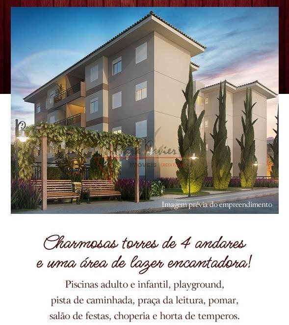"""""""apartamento com ampla área de lazer""""área total: 9.390,00 m² área útil: 75,80 m²,com 2 dormitórios, sendo..."""