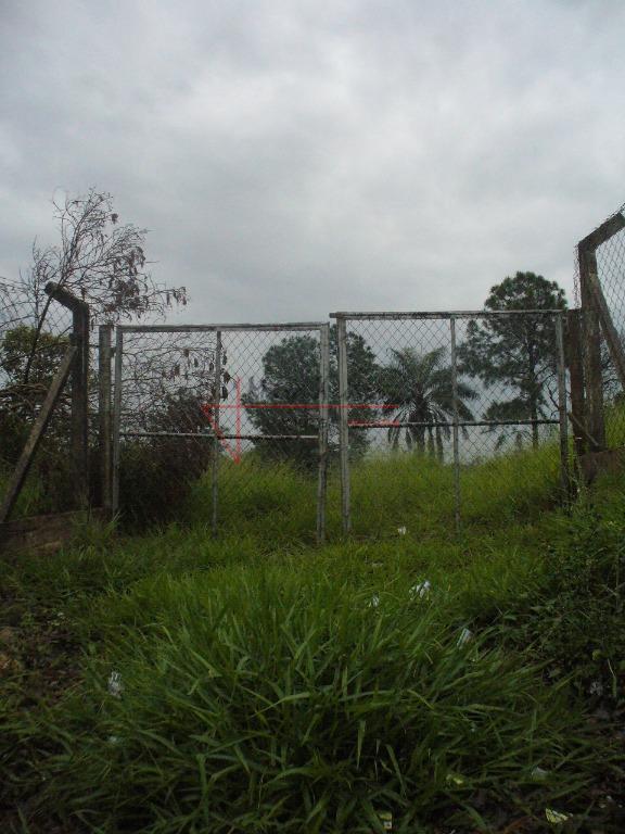 terreno 1000 m², com pequeno aclive lateral a venda, em local bom para chácara. aceita permuta...