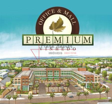 Sala comercial locação, Vinhedo Premium Office & Mall, Vinhedo - SA0110.
