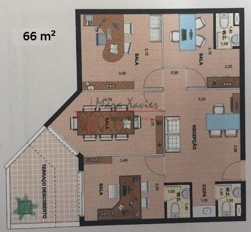 Sala comercial  locação, Vinhedo Premium Office & Mall, Vinhedo - SA0120.
