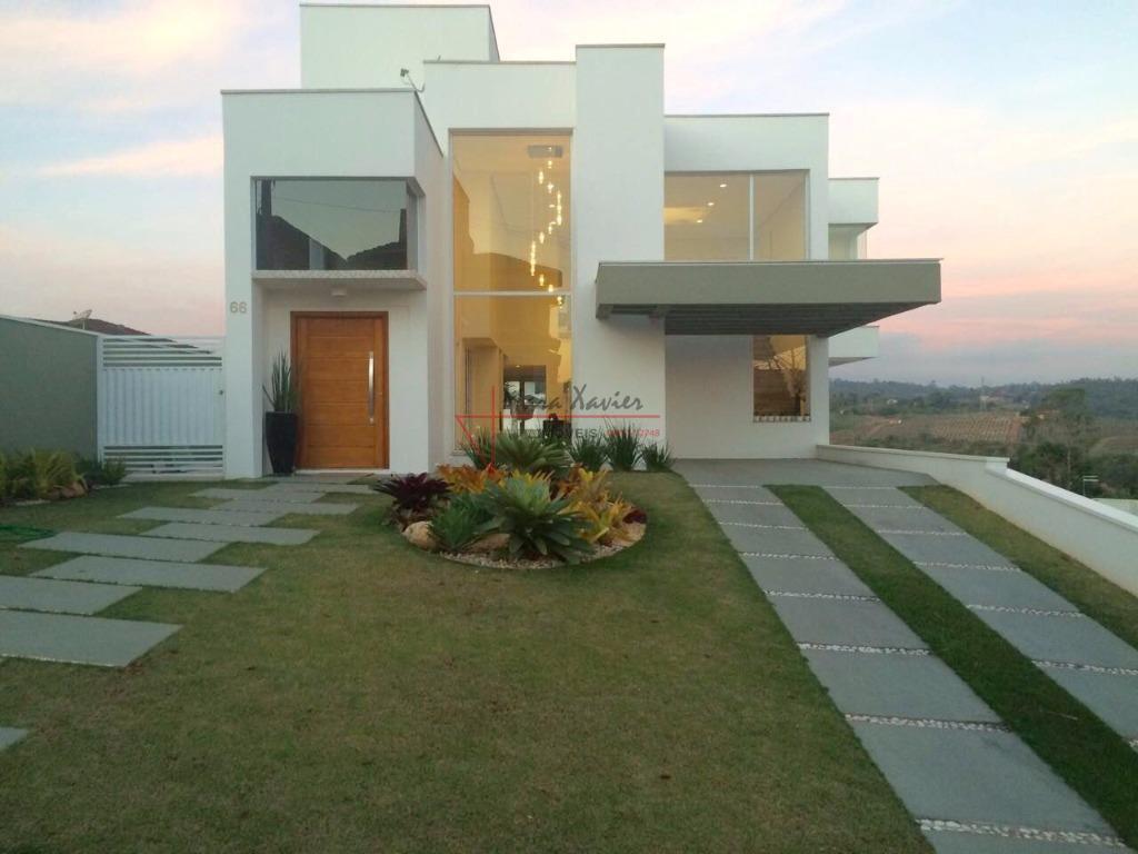 Sobrado com 3 dormitórios à venda, 330 m² por R$ 1.800.000 - Condomínio Delle Stelle - Louveira/SP