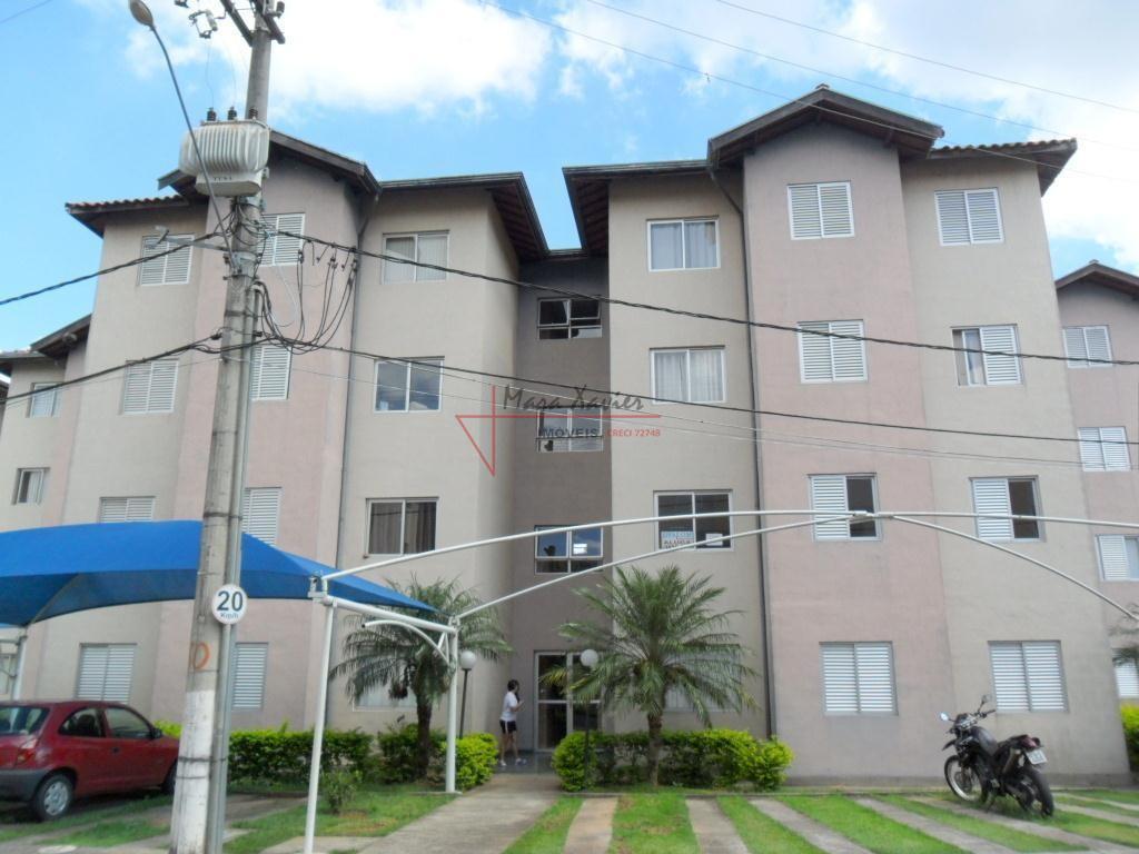 Apartamento com 3 dormitórios para alugar, 67 m² por R$ 900/mês - Condomínio Sol Maior - Vinhedo/SP