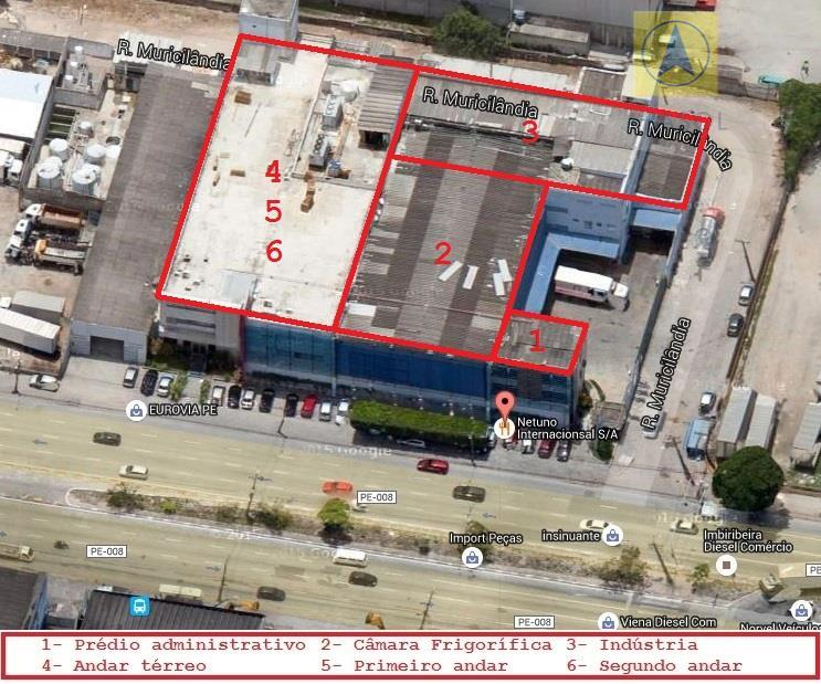 iptu: r$ 8.995,11complexo industrial composto por 4 prédios (administrativo, câmara frigorífica, industria e office) localizados na...