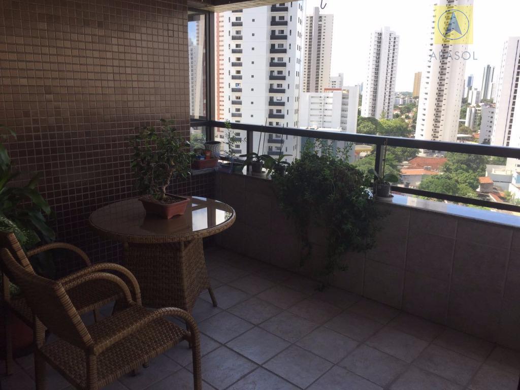 Ed. Dornelas Câmara / Tamarineira, Recife, 04 quartos, lazer, andar alto, alto padrão, 3 garagens