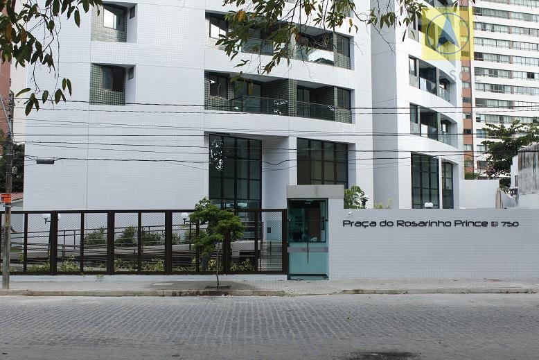 Praça do Rosarinho Prince aluguel - 3 quartos - 70m² - Andar alto - Madalena