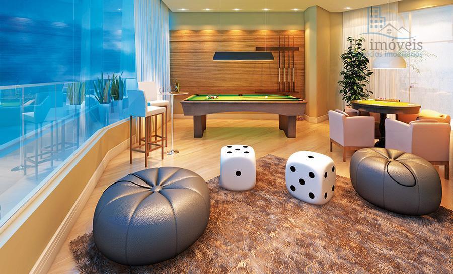 apartamento com 1 suíte máster com sacada + 2 suítes, bwc de serviço e dependência de...