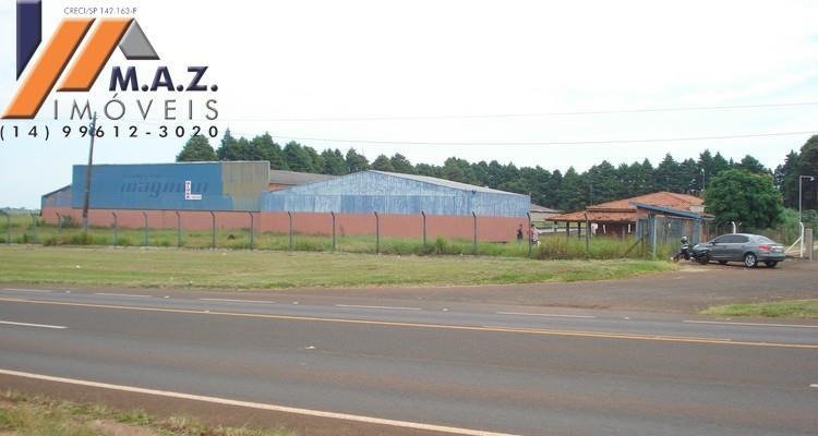 Barracão  comercial para venda e/ou locação, na RODOVIA SP 255, Avaré/SP