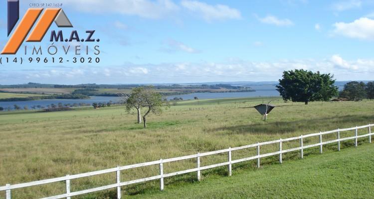 Fazenda 100 alqueires, 1.300km de margem de Represa. Região Avaré/SP