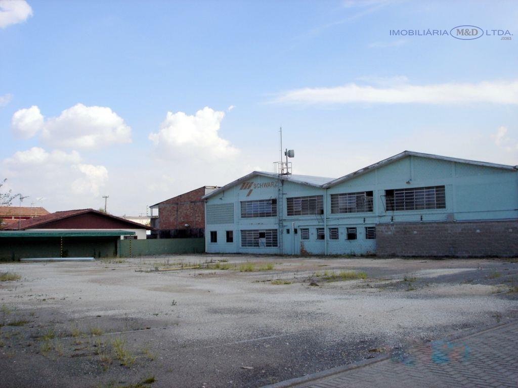 Barracão comercial para venda e locação, Vila Varginha, Pinhais.