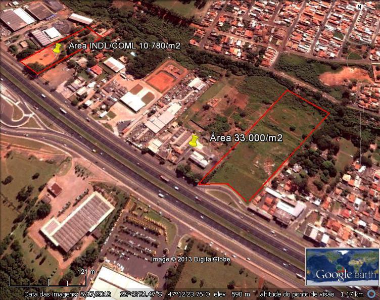 Área Industrial em sumaré 33.000m²