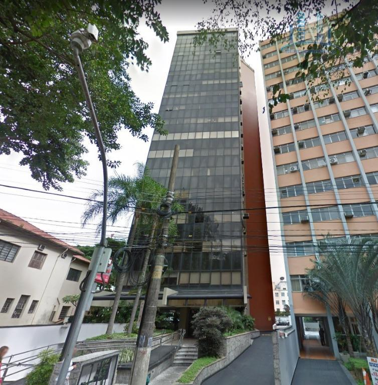 Conjunto comercial para locação, Bela Vista, São Paulo.