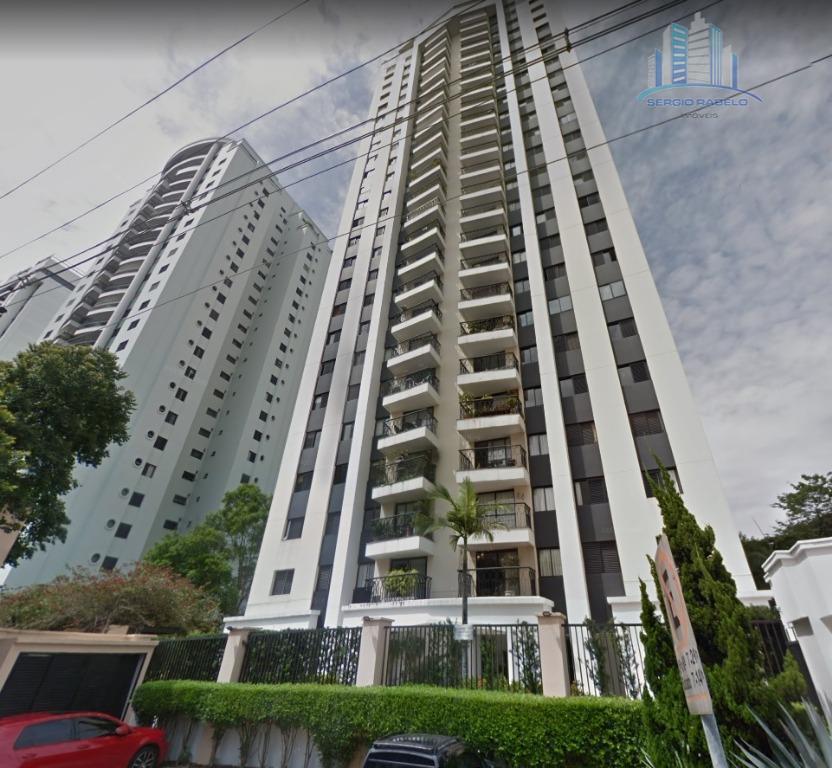 Apartamento com 2 dormitórios para alugar, 95 m² por R$ 3.500/mês - Indianópolis - São Paulo/SP