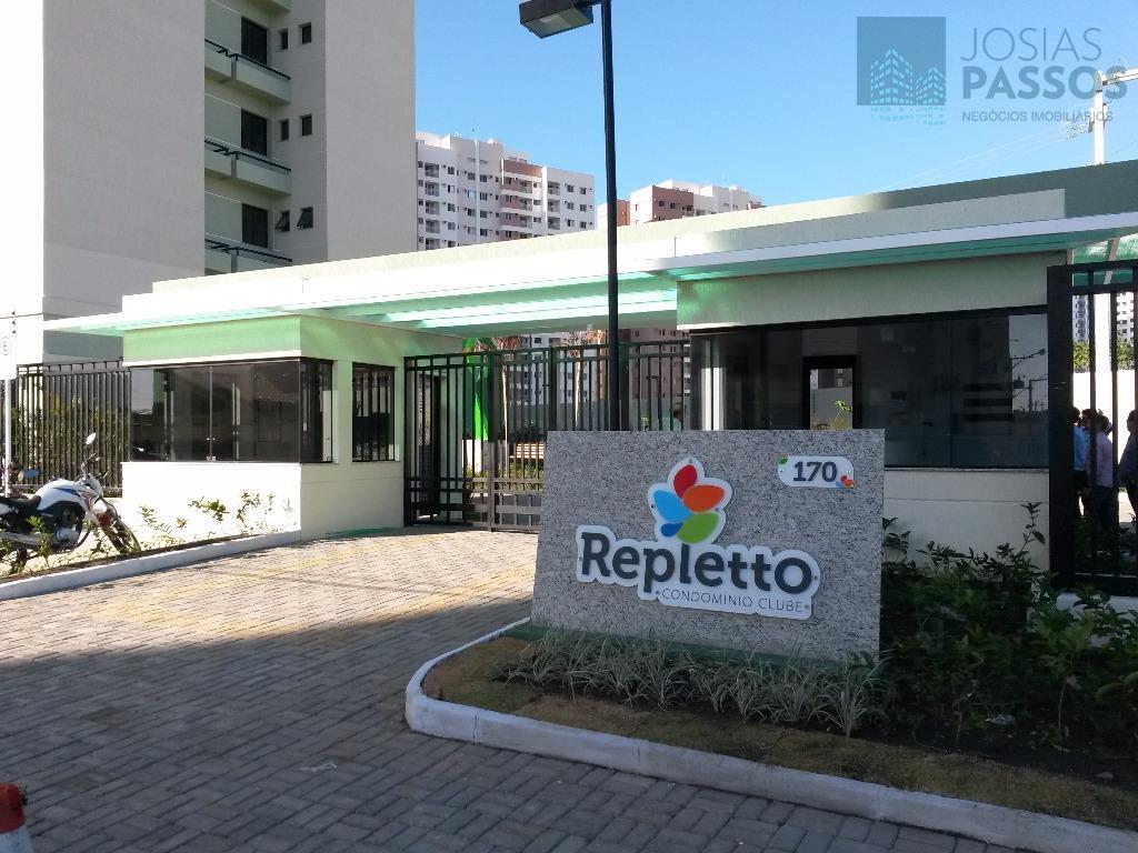 Apartamento  residencial à venda, Repletto, Luzia, Aracaju.