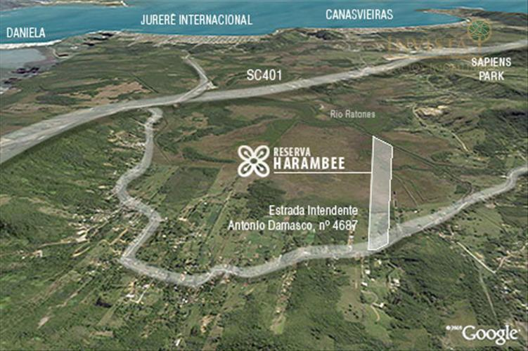 Terreno em Ratones, Florianópolis - SC