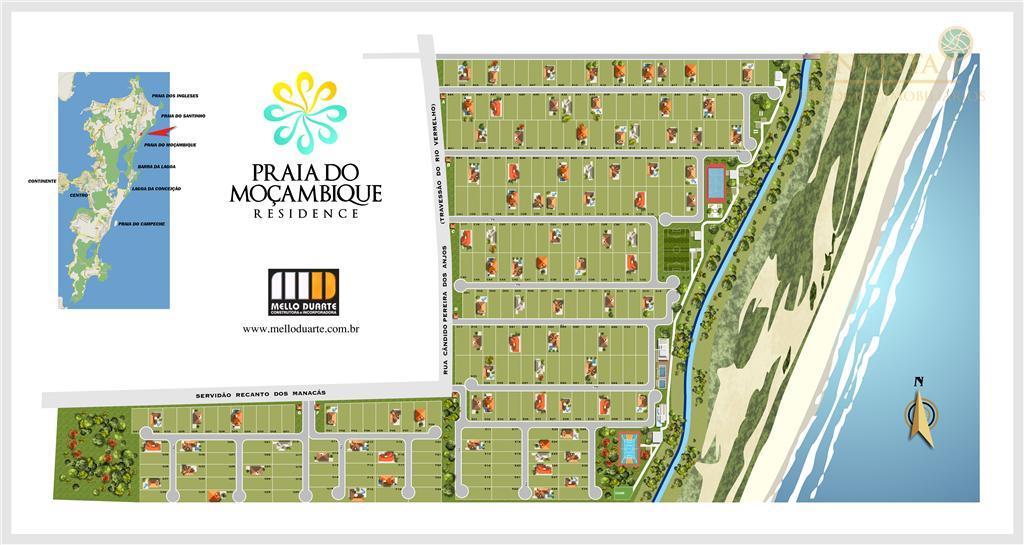 Terreno à venda em Rio Vermelho, Florianópolis - SC
