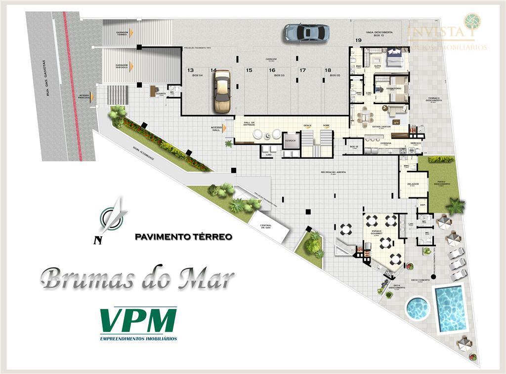 Cobertura de 3 dormitórios em Ingleses, Florianópolis - SC