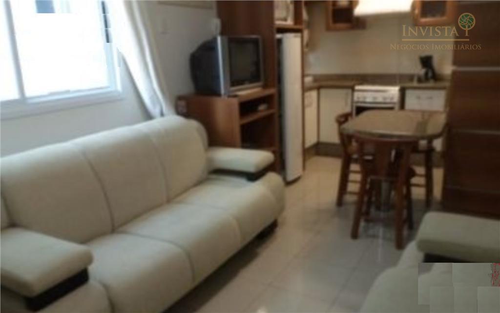 Apartamento de 1 dormitório à venda em Centro, Florianópolis - SC