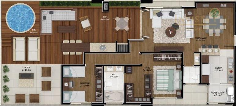 Apartamento de 2 dormitórios à venda em Canasvieiras, Florianópolis - SC