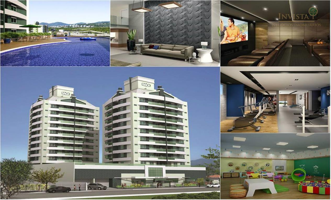 Apartamento de 3 dormitórios em Trindade, Florianópolis - SC