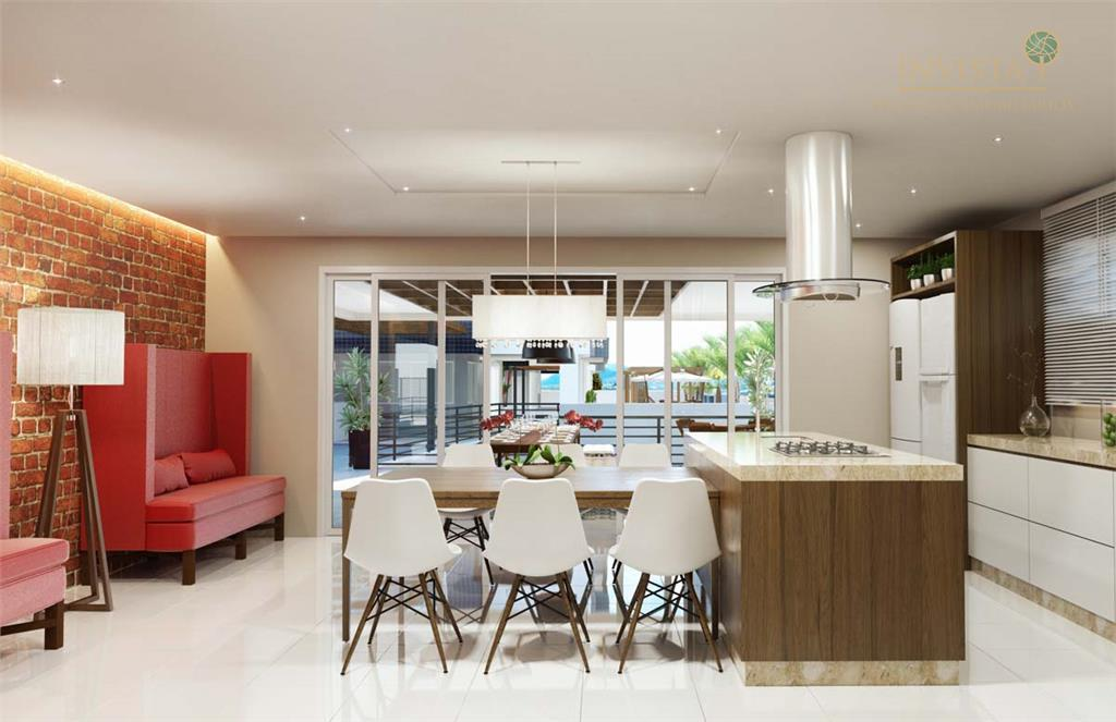 Apartamento de 2 dormitórios em Roçado, São José - SC