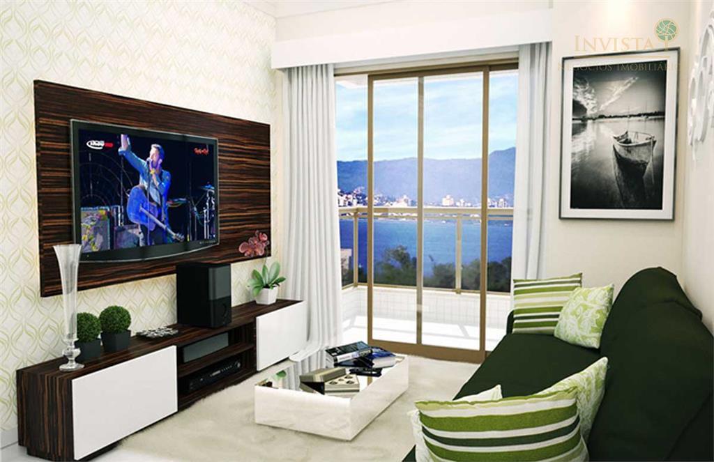 Apartamento de 2 dormitórios em Centro, São José - SC