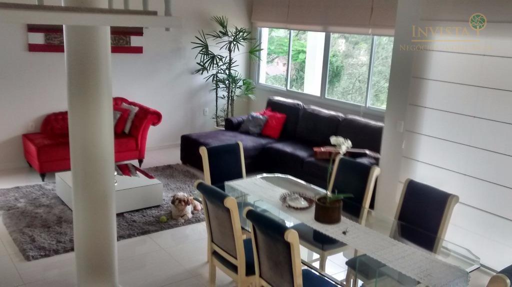 Casa de 4 dormitórios em Pantanal, Florianópolis - SC