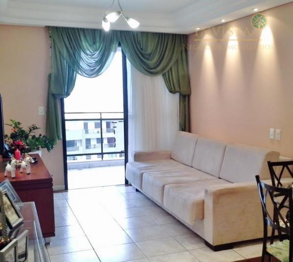 Apartamento de 3 dormitórios em João Paulo, Florianópolis - SC