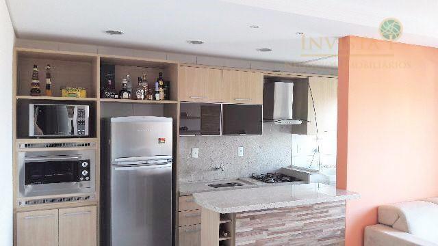 Apartamento de 2 dormitórios à venda em Barreiros, São José - SC