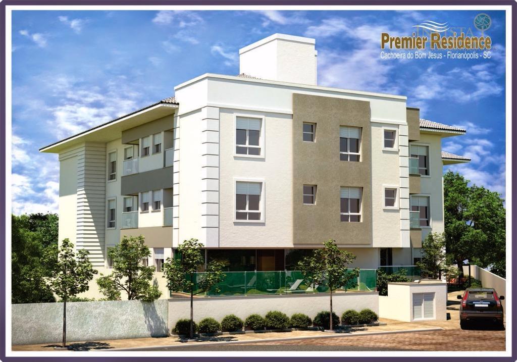 Apartamento de 2 dormitórios à venda em Cachoeira Do Bom Jesus, Florianópolis - SC