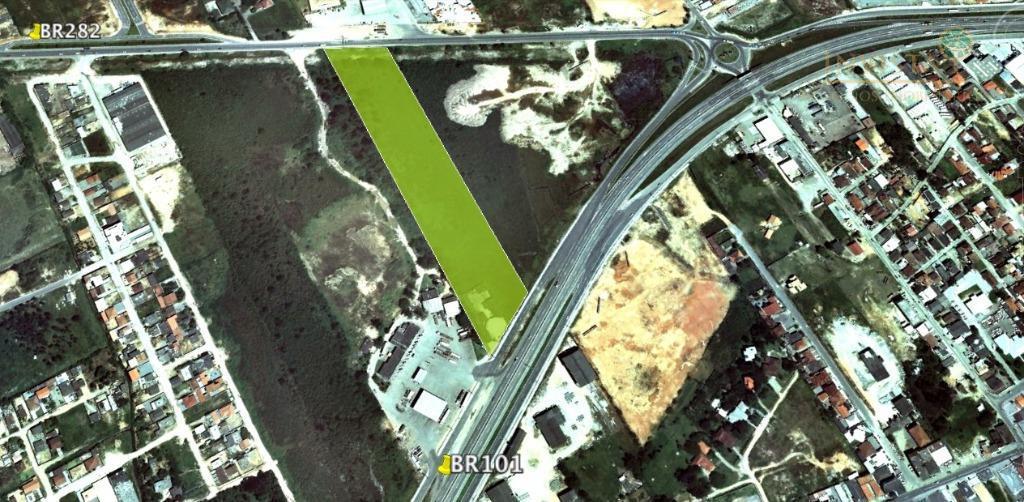 Terreno à venda em Centro, Palhoça - SC