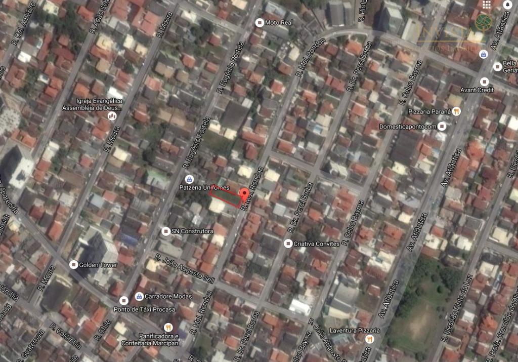 Terreno à venda em Barreiros, São José - SC