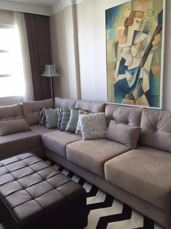 apartamento centro com 3 dormitórios, 2 banheiros, sala de estar/jantar, cozinha americana, área de serviços, teto...