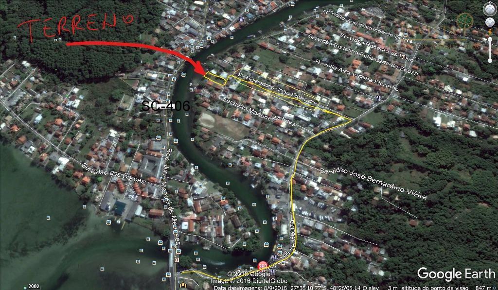 Terreno à venda em Barra Da Lagoa, Florianópolis - SC