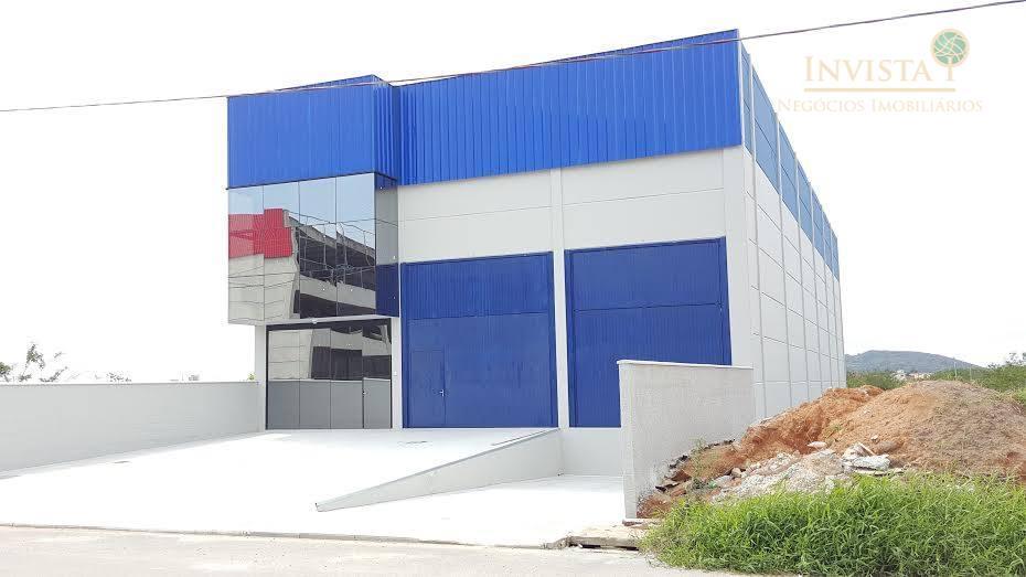 Galpão comercial para venda e locação, Pacheco, Palhoça.