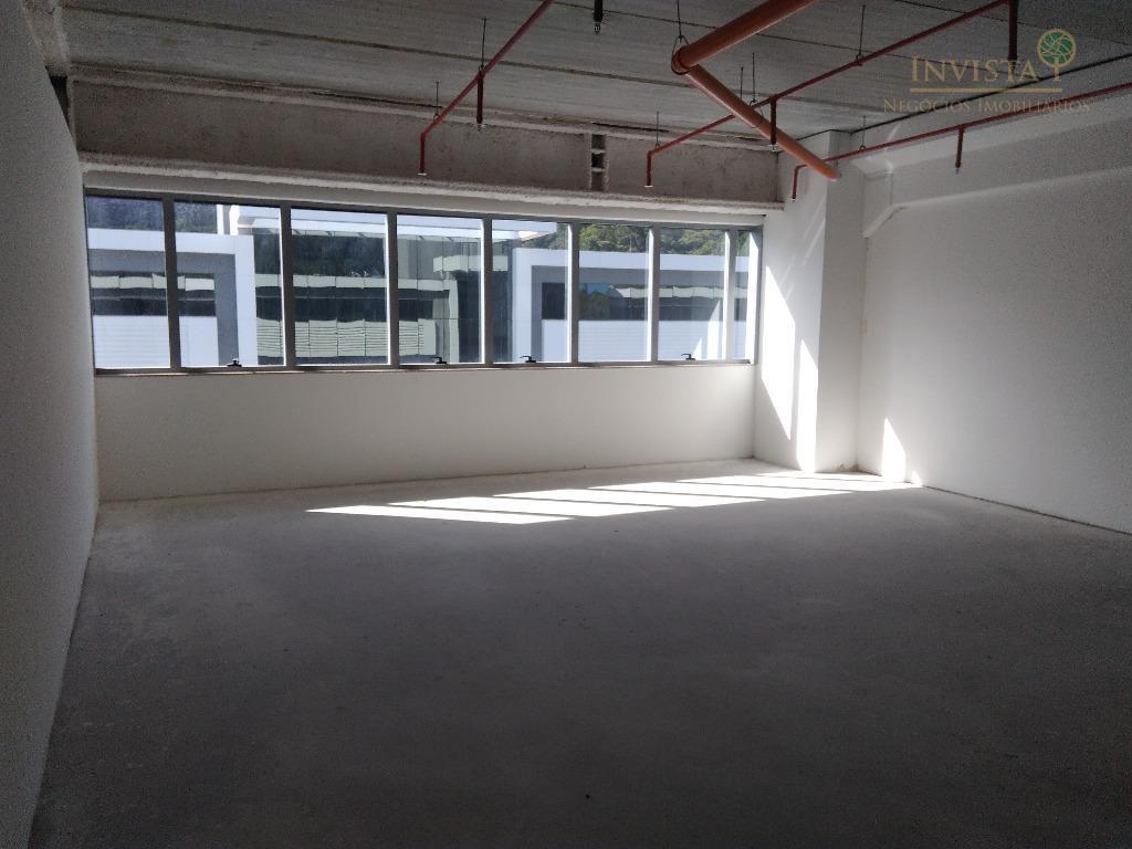 25 m² e vaga de garagem no mais novo e inteligente condomínio corporativo de Florianópolis