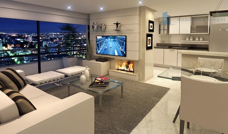Sala Tv Com Lareira ~ Apartamento residencial à venda, Petrópolis, Porto Alegre AP0161