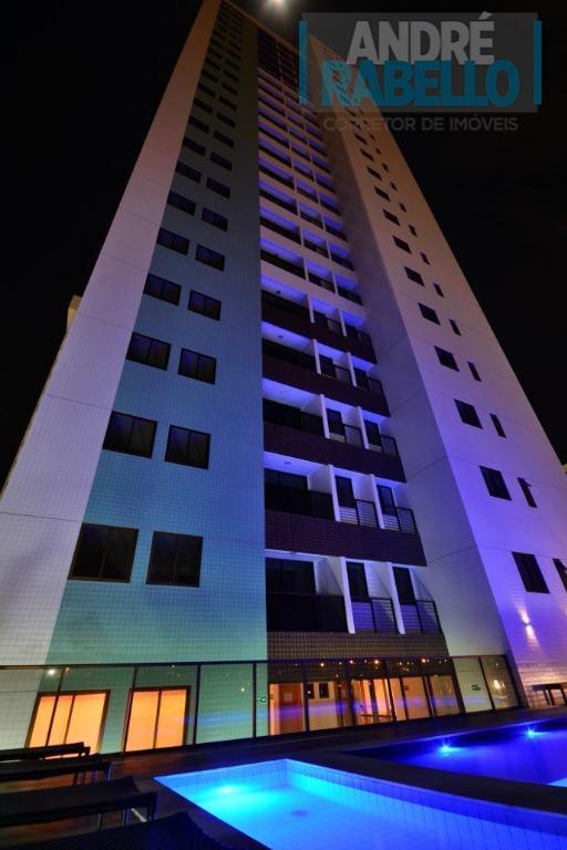 Apartamento residencial à venda, Pedro Gondim, João Pessoa - AP0054.