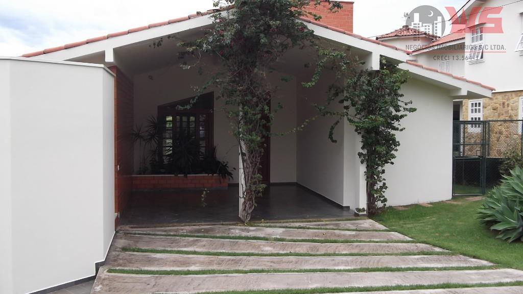 Casa  residencial para venda e locação, Bairro Campos de Santo Antônio, Itu.