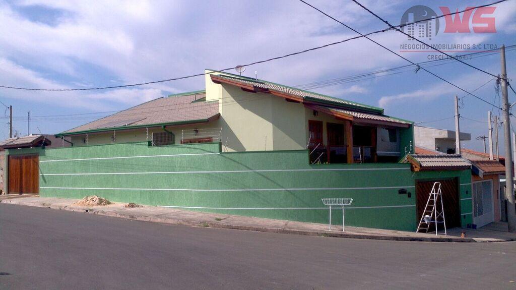Casa residencial à venda, Jardim Estância Bom Viver, Itu.