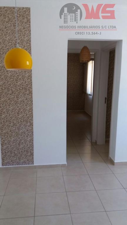 Apartamento com 2 dormitórios à venda por R$ 190.000 - Vila Santa Terezinha - Itu/SP