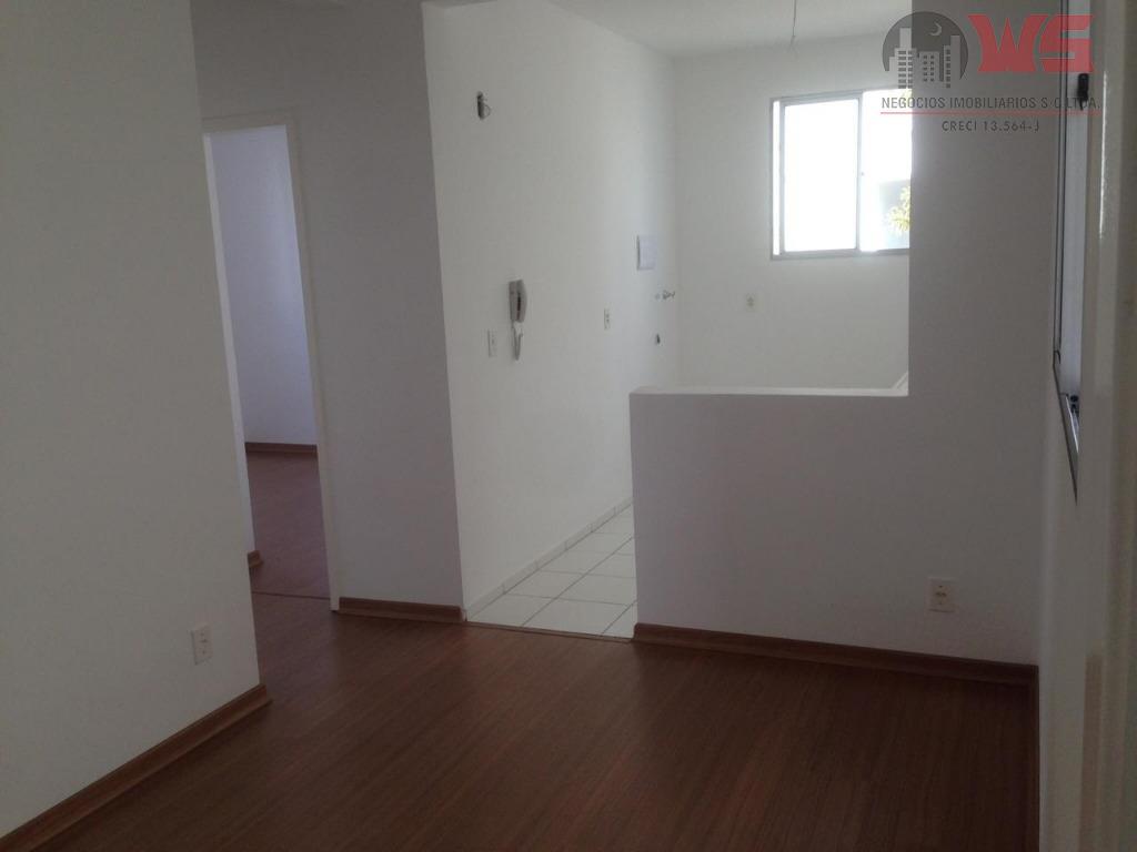 Apartamento com 2 dormitórios à venda por R$ 150.000 - Parque Nossa Senhora da Candelária - Itu/SP