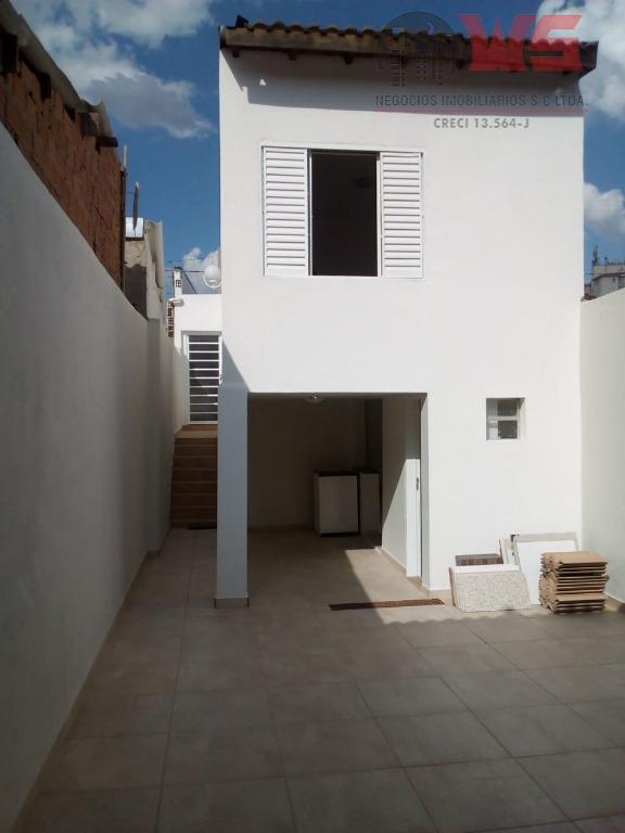 Casa com 2 dormitórios à venda, 96 m² por R$ 270.000 - Vila Santa Terezinha - Itu/SP