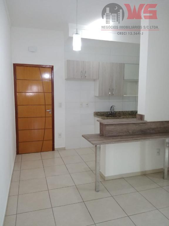 Apartamento com 2 dormitórios à venda por R$ 296.800 - Jardim Rancho Grande - Itu/SP